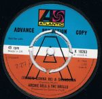Archie Bell & The Drells Theres Gonna Be A Showdown Atlantic Uk Demo Mint